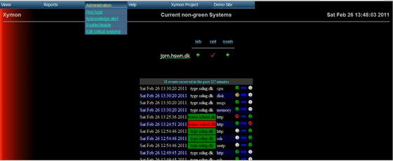 Monitoring Web - Gestion des alertes avec Symon